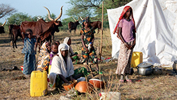 Mobile pastoralists in Chad