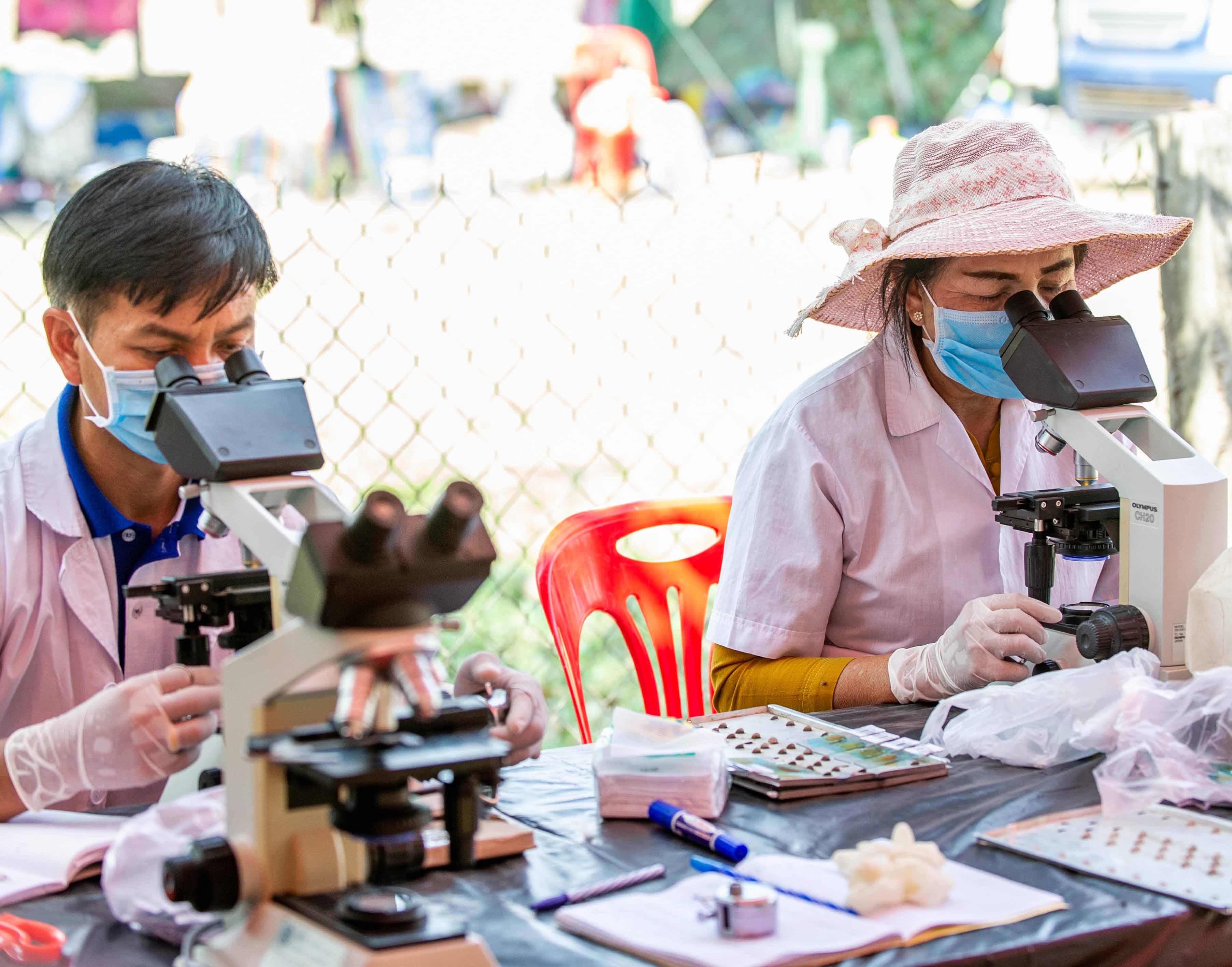 Liver fluke diagnostics in Laos