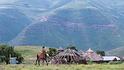 Rural scenery in Lesotho