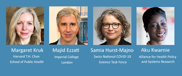 Keynote speakers at the Swiss TPH Virtual Symposium 2021