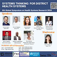 Skills building session at the 6th Global Symposium on Health Systems Rsearch 2020