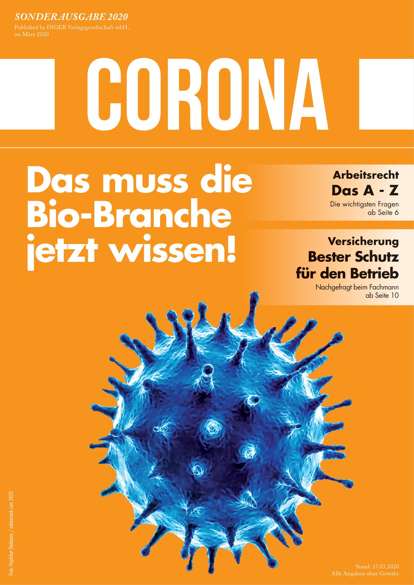 Corona Spezial: Das muss die Bio-Branche jetzt wissen