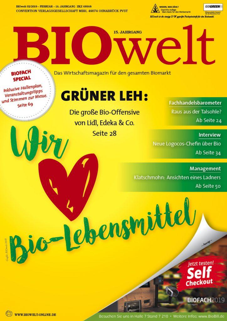 BIOwelt Ausgabe 2/2019