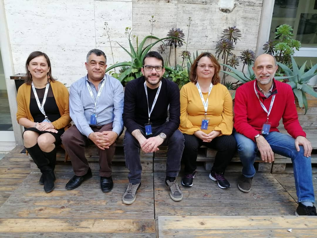 In the featured imagine the founders of the RISS network: from left to right, Giovanna Grossi (University of Brescia), Franco Bagnoli (University of Florence), Matteo Serra (Bruno Kessler Foundation), Giovanna Pacini (University of Florence), Andrea Vargiu (University of Sassari)