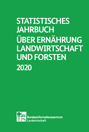 Broschürentitel Statistische Jahrbuch über Ernährung, Landwirtschaft und Forsten