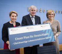 Das Vorsitz-Trio der Kommission, Quelle: BMEL / Photothek