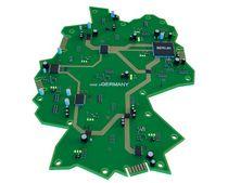 Deutschlandkarte Schaltkreis, Quelle: chingraph - stock.adobe.com