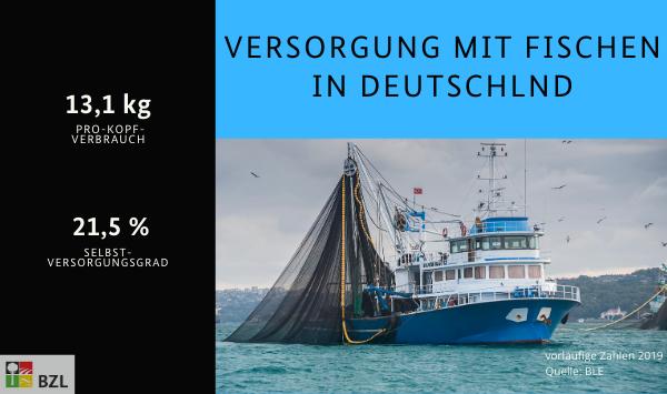 Thema Fischerei: 13,1 Kg Pro-Kopf-Verbrauch