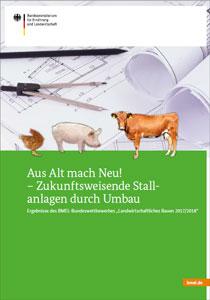 """Cover der BMEL-Broschüre """"Aus Alt mach Neu"""""""