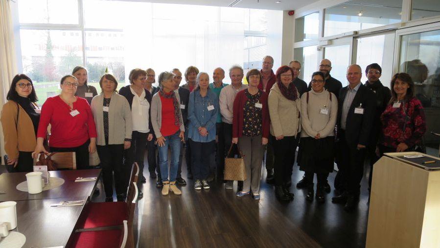Erstes Treffen der ECPGR Arbeitsgruppe Berries