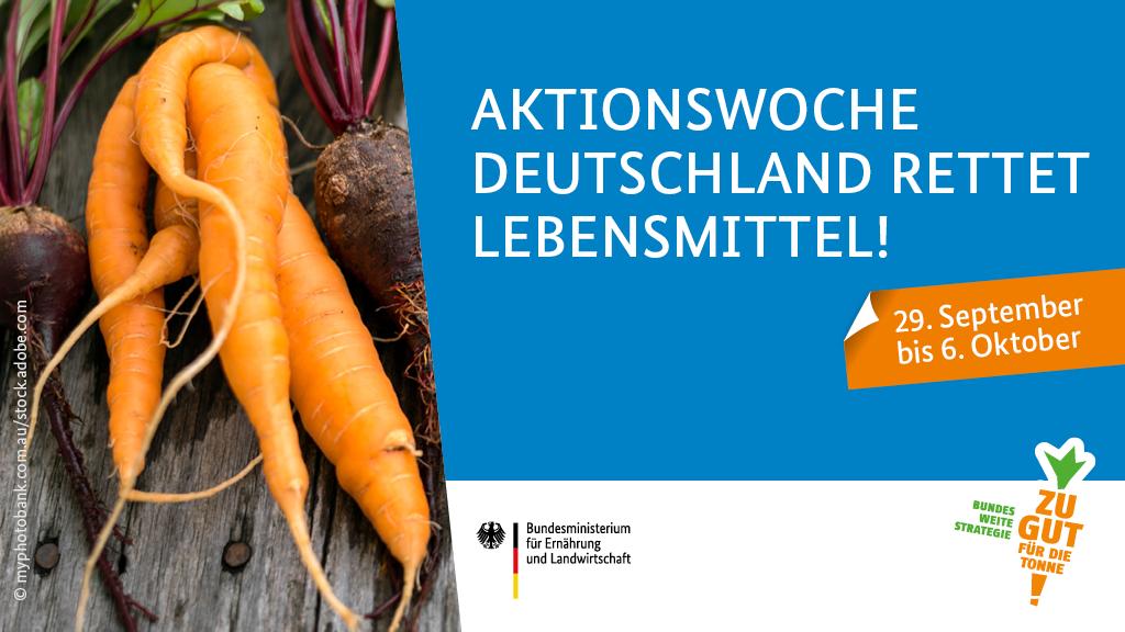 Deutschland rettet Lebensmittel! / Copyright BMEL
