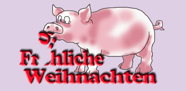 Zeichnung: Schwein
