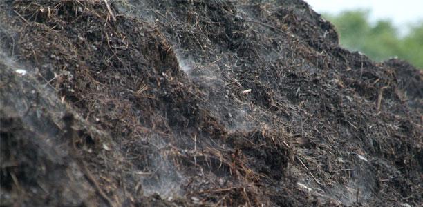 Komposthaufen. Foto: VHE