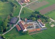 Luftaufnahme der Hessischen Staatsdomäne Frankenhausen