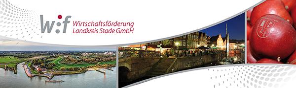 Logo Wirtschaftsförderung Landkreis Stade GmbH