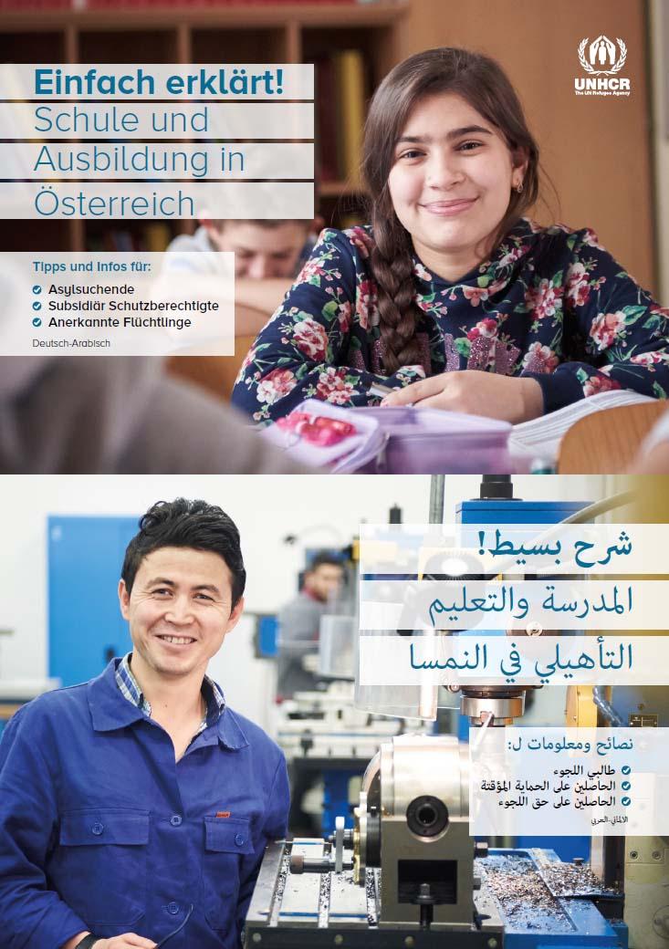 Cover Einfach erklärt! Ausbildung und Schule in Österreich