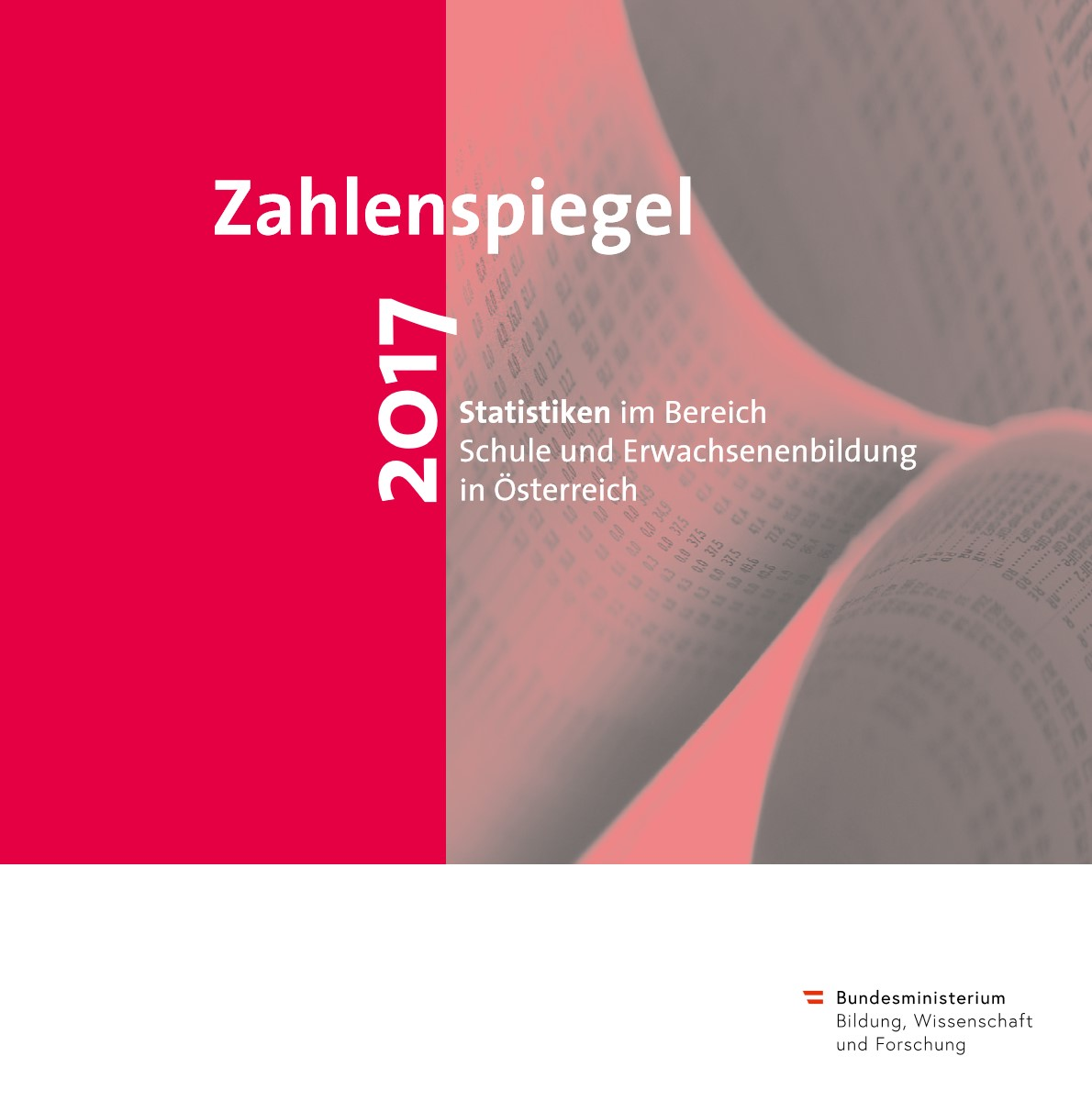 Cover Zahlenspiegel 2017