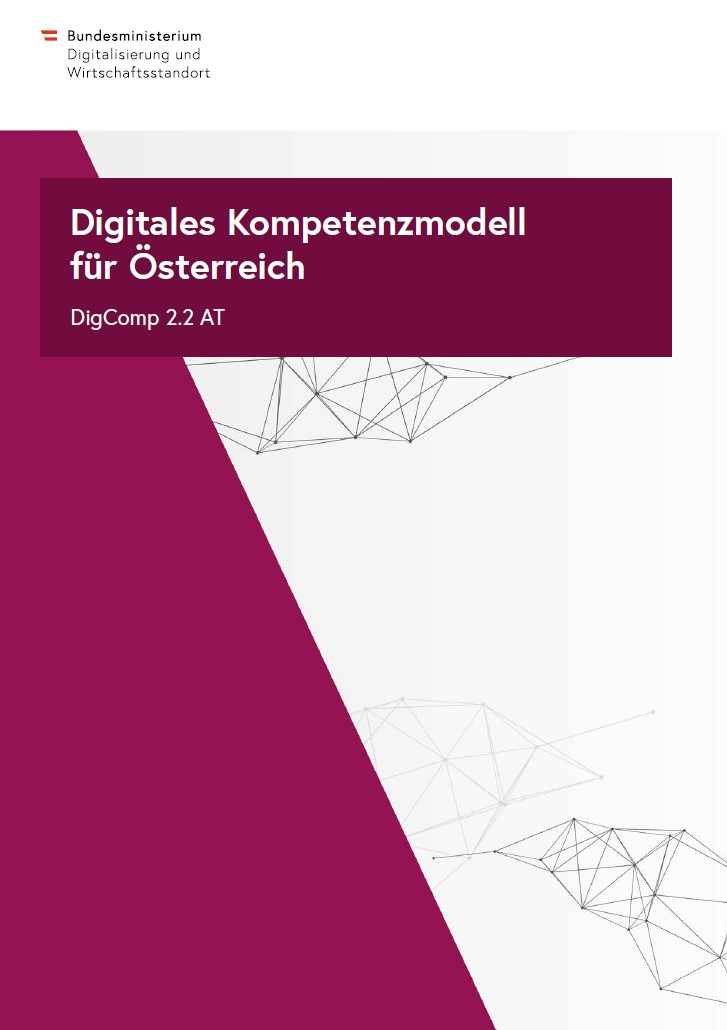 Cover Digitales Kompetenzmodel