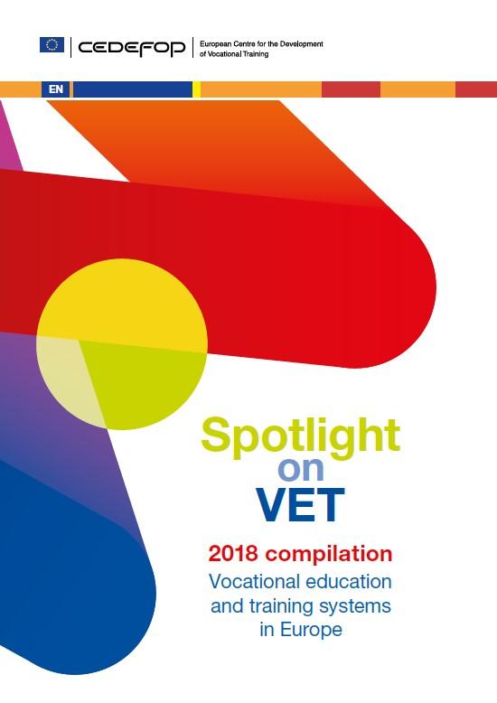 cover Cedefop spotlight on VET