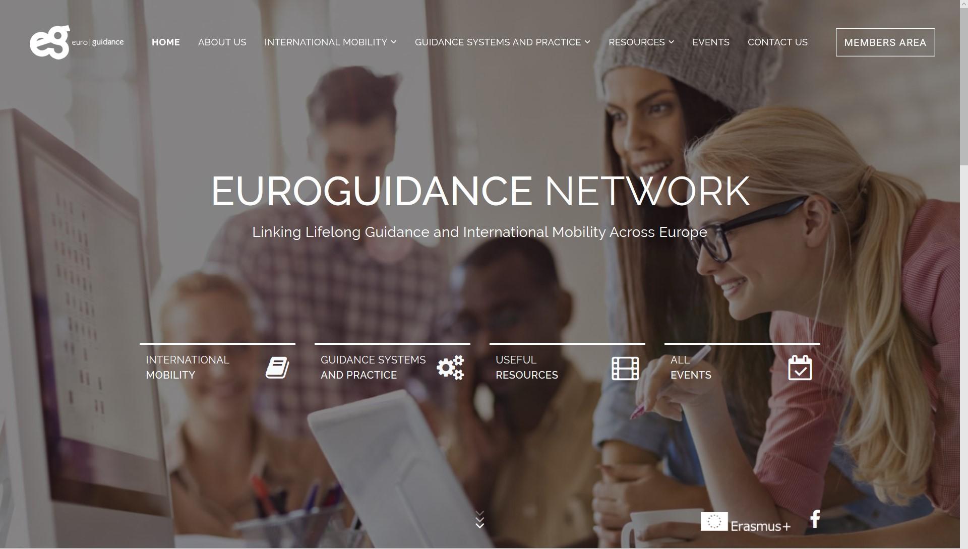 screenshot euroguidance