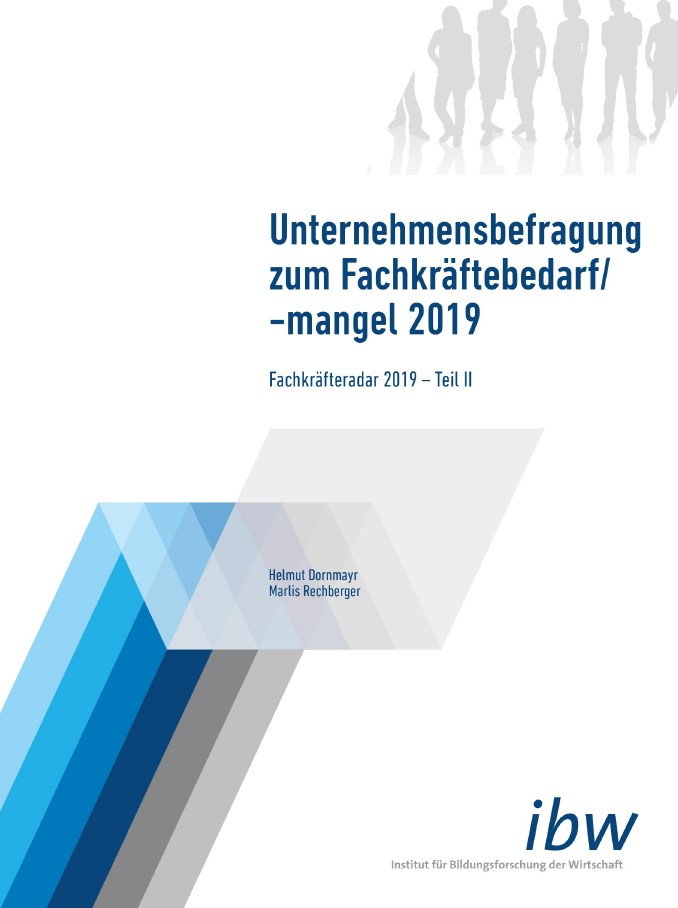 cover Fachkräfteradar 2019