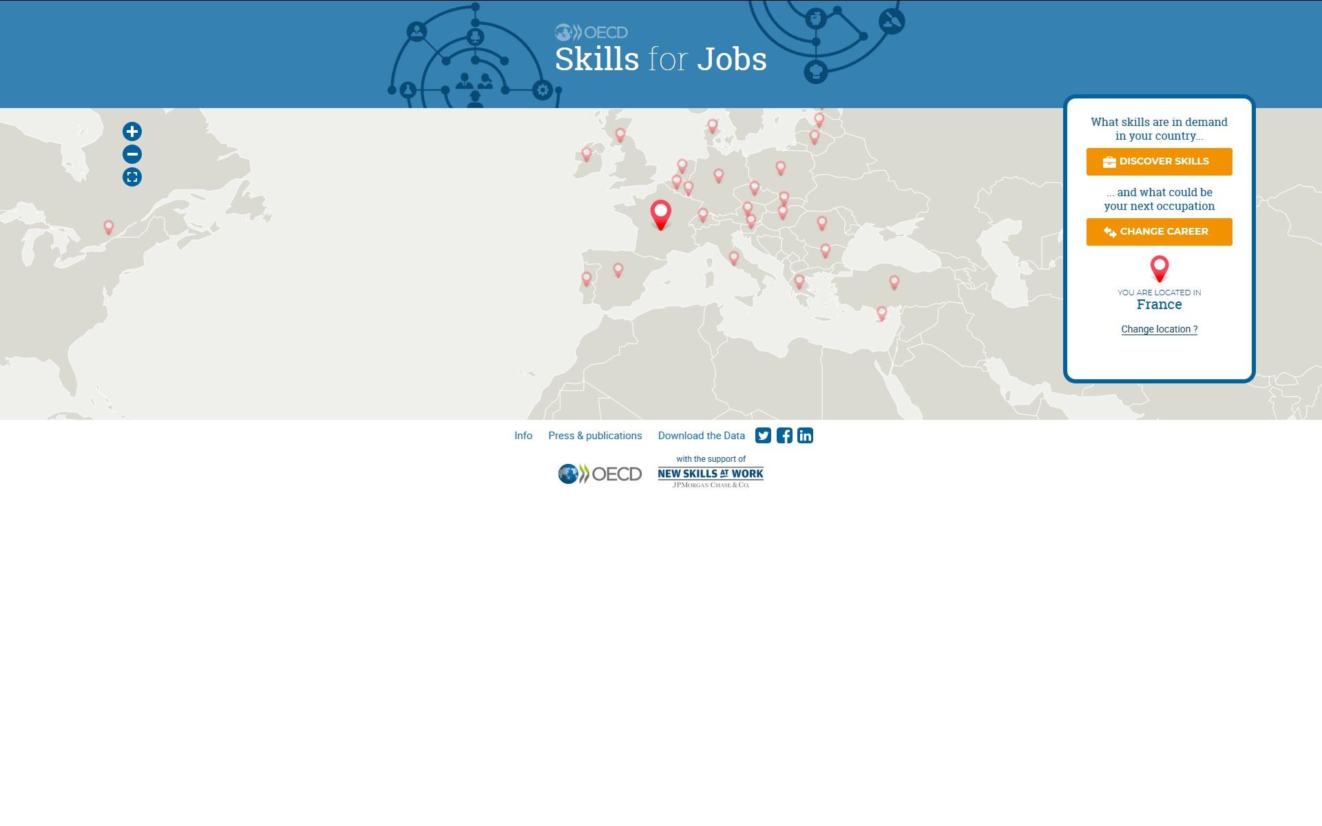Screenshot Skills for jobs