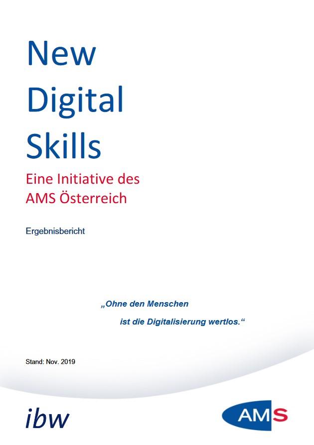 Cover New Digital Skills Bericht