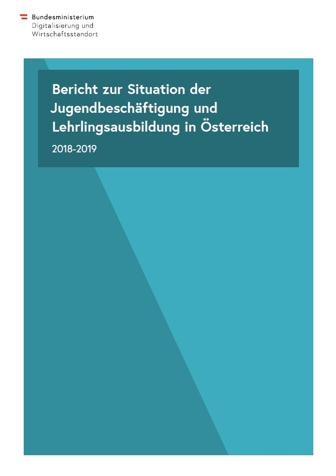 Cover Bericht zur Situation der Jugendbeschäftigung