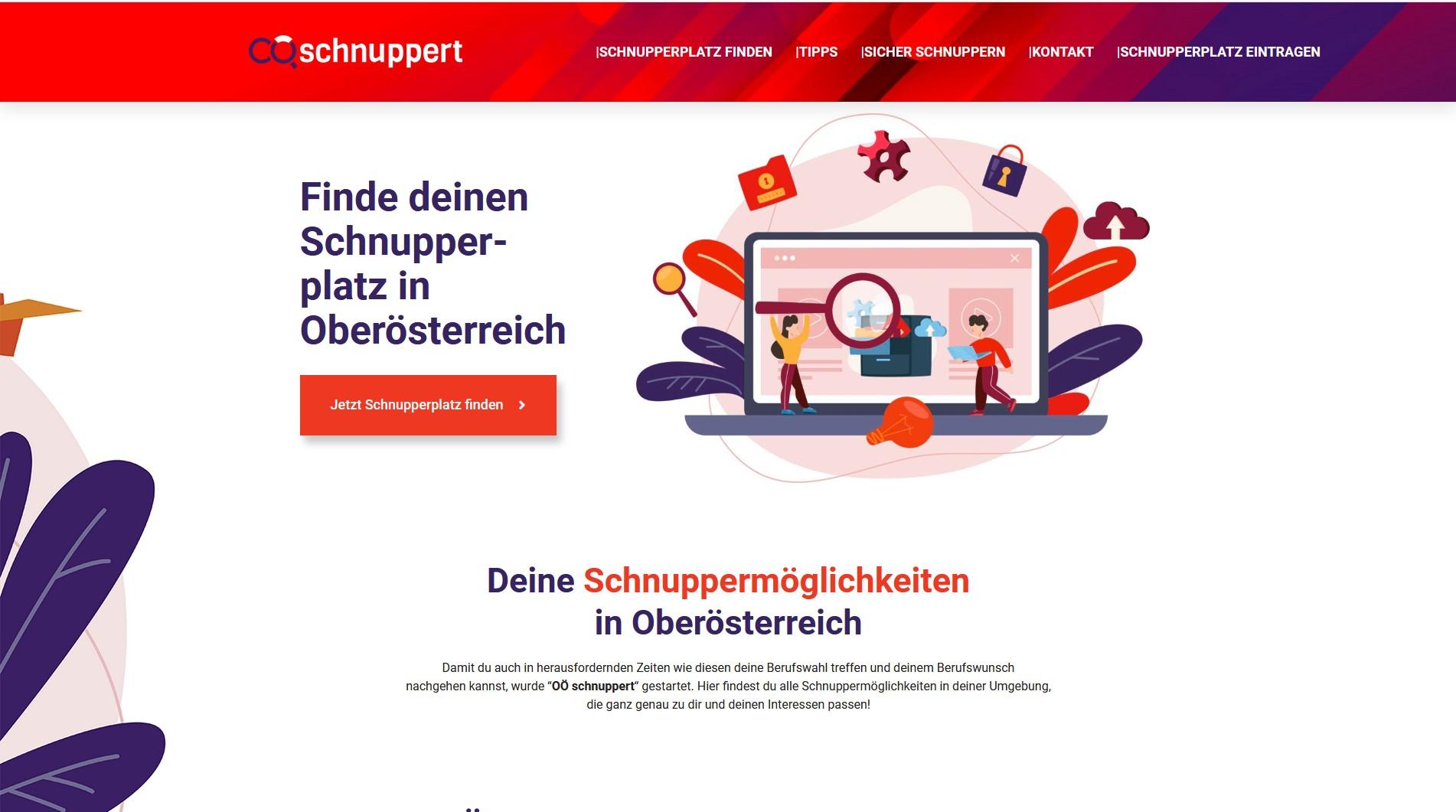 Screenshot OOE schnuppert